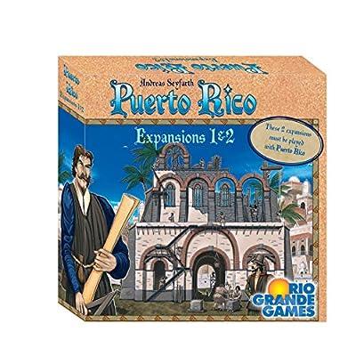 Rio Grande Games RIO565 Puerto Rico Expansions 1 & 2: Toys & Games