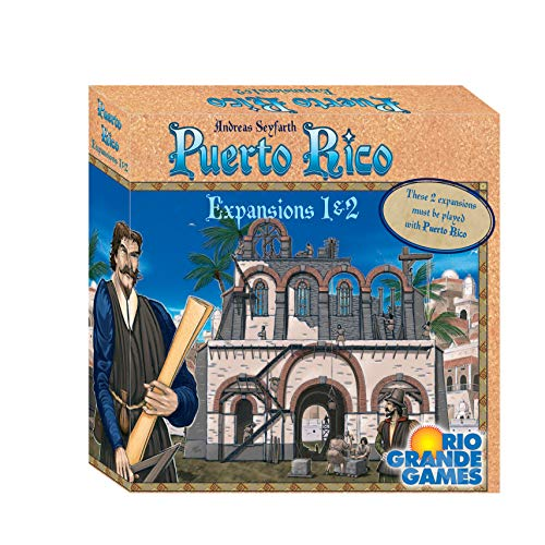 Rio Grande Games RIO565 Puerto Rico Expansions 1 & 2 (The Best Of Puerto Rico)