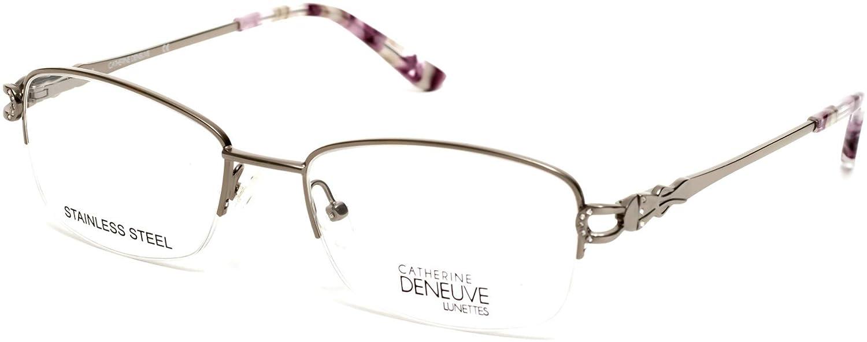 Eyeglasses Catherine Deneuve CD 0421 010 shiny light nickeltin