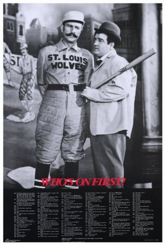Abbott & Costello - Who's On First Poster Movie 1940