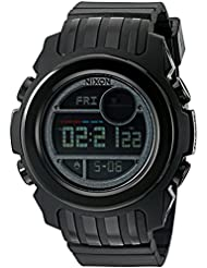 Nixon Mens Super Unit SW, Vader Japanese Automatic Rubber and Silicone Casual Watch, Color Black (Model: A921SW...