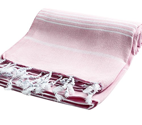 Light Pink Rose Meaning (Pestemal Turkish Bath Towels 37x70 %100 CottonTM by Cacala Rose)