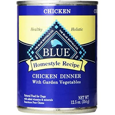 Blue Buffalo Blue Homestyle Recipe Chicken Dinner with Garden Vegetables Adult Dog Food