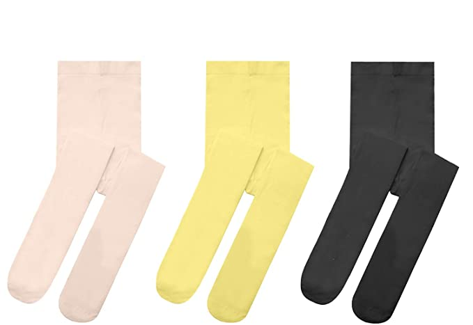 63ccd8b74be71 Girls Tights Microfiber Opaque Toddler Leggings Ballet Footed Dance  Stockings For Big Girls Solid Color