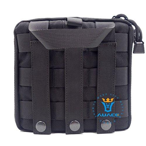 Multifunktions Survival Gear Tactical Beutel MOLLE Beutel Medical Erste Hilfe Tasche Utility Werkzeug Tasche, Outdoor Camping Taille Bag Travel Tasche Handy Tasche BK