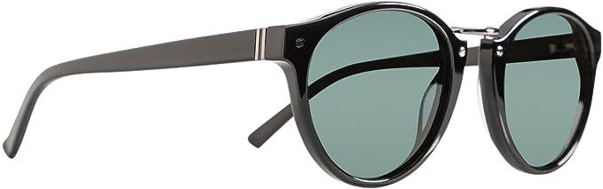 New Vonzipper Men s Stax Sunglasses Stainless Steel 100% Uv Protection Black 208b91818a