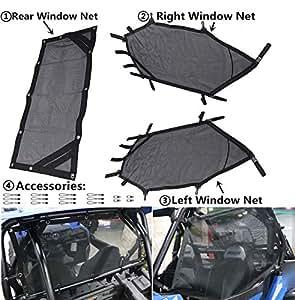Amazon Com Mfc Utv Window Net Roll Cage Mesh Guard Front