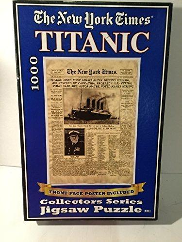最新作 Titanic~The New Herbko York Times~Collectors Titanic~The B077Q8QP1R Series~Jigsaw~1000 by Herbko International [並行輸入品] B077Q8QP1R, 【年間ランキング6年連続受賞】:92ffdbe4 --- irlandskayaliteratura.org