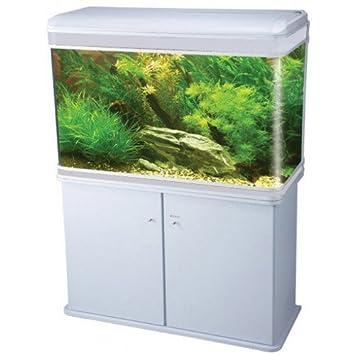 lz-1200 blanco moderno armario Acuario Fish Tank/marina Tropical/agua dulce - 120 cm - 300L con iluminación LED: Amazon.es: Productos para mascotas