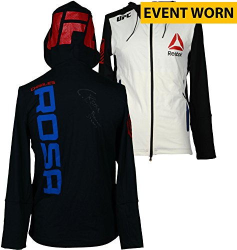 Charles Rosa Ultimate Fighting Championship Autographed UFC Fight Night: Dillashaw vs. Cruz Event-Worn Walkout Hoodie - Defeated Kyle Bochniak via Unanimous Decision - Fanatics Authentic Certified (Charles Hoody)