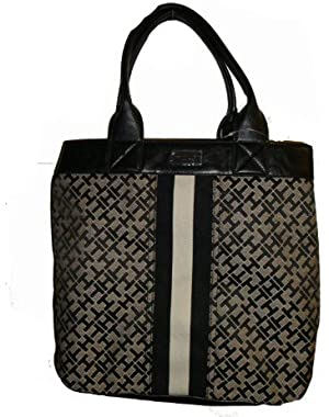 Women's NS Tote/Indention On Sides, Large, Black Alpaca