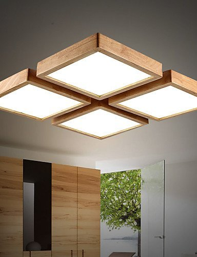 DXZMBDM® 64 Zeitgenössisch / Rustikal Ministil Andere Holz/Bambus Pendelleuchten Esszimmer / Studierzimmer/Büro , white-220-240v