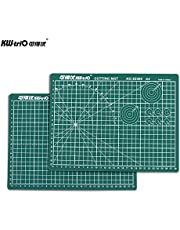 "Decdeal Self-Healing Rotary Cutting Mat Cutting Pad Patchwork Cut Pad Double Sided 5-Ply Mat with Max Healing for Cropping Sewing Quilting Craft A4 12"" * 8"""