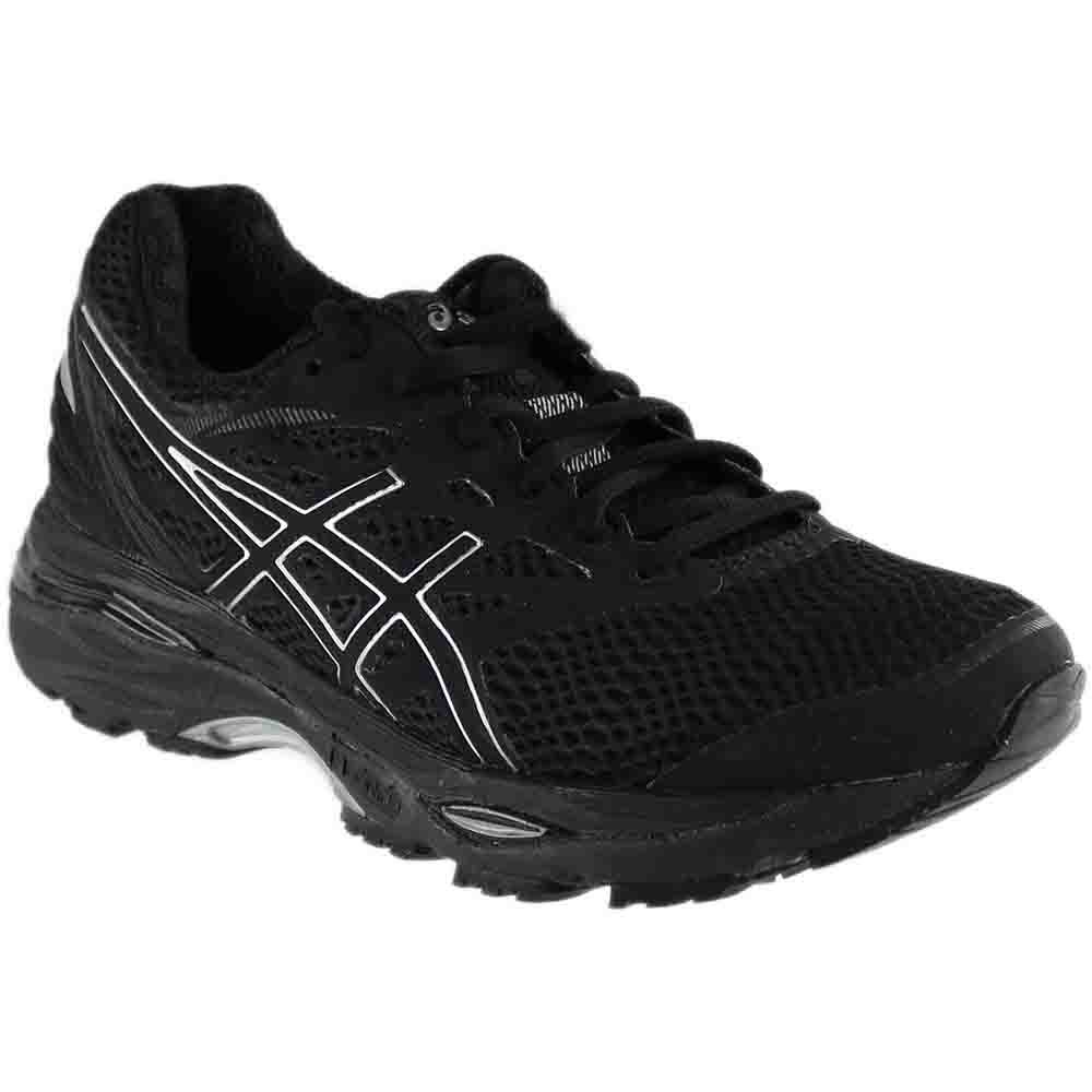 ASICS Women's Gel-Cumulus 18 Running Shoe B06XC29HPY 9 B(M) US|Black/Silver/Black