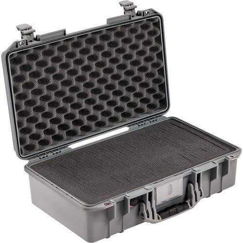 1525Air Carry-On Case with Pick-N-Pluck Foam (Silver) [並行輸入品] B07MN2ZGWM