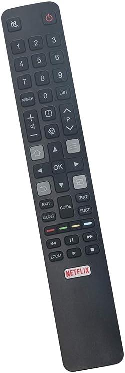 ALLIMITY CRC802N RC802N YNI1 T/él/écommande remplac/ée pour Thomson TCL 4K HDR Android TV 85X6US 75C2US 70C2US 65X4US 65X2US 65P20US 65C2US 60P20US 55X4US 55X2US 55P20US 55C2US 50P20US 49C2US 43P20US