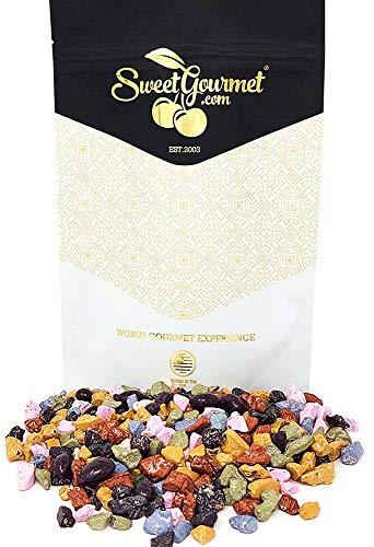 SweetGourmet Candy Coated Milk Chocolate Rocks | Bulk Candy | Kosher | 1 pound