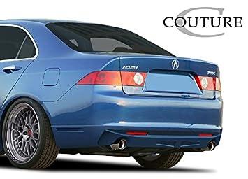 Acura TSX Couture Vortex Rear Lip Under Spoiler Air Dam - 2005 acura tsx accessories