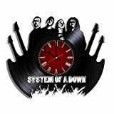 Original vinyl record wall clock System of a Down, music wall poster System of a Down For Sale
