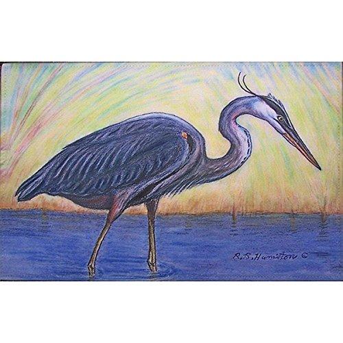 - Blue Heron Outdoor Wall Hanging 24x30