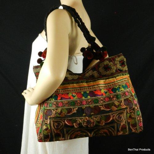 BenThai Products, Borsa tote donna Multicolore Multicolor Large