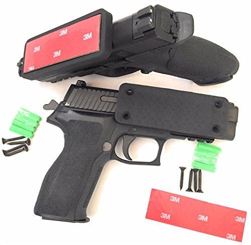 ULTIMAG - Gun Magnet, PREMIUM Gun Mount, 2-Pack | 43 LB RATING, Rubber Coated, Magnetic Gun Holder, Gun Holster, Truck, Car, Vehicle, Holster, Handgun, Rifle, Pistol, Revolver, Magazine, Wall, Bedside