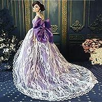 Vestido De Fiesta De Encaje Para Barbie o