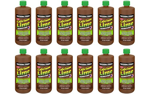 Whink Calcium & Lime Remover 32 oz. - Higher Concentration for faster results! (Pack of 12) by Whink
