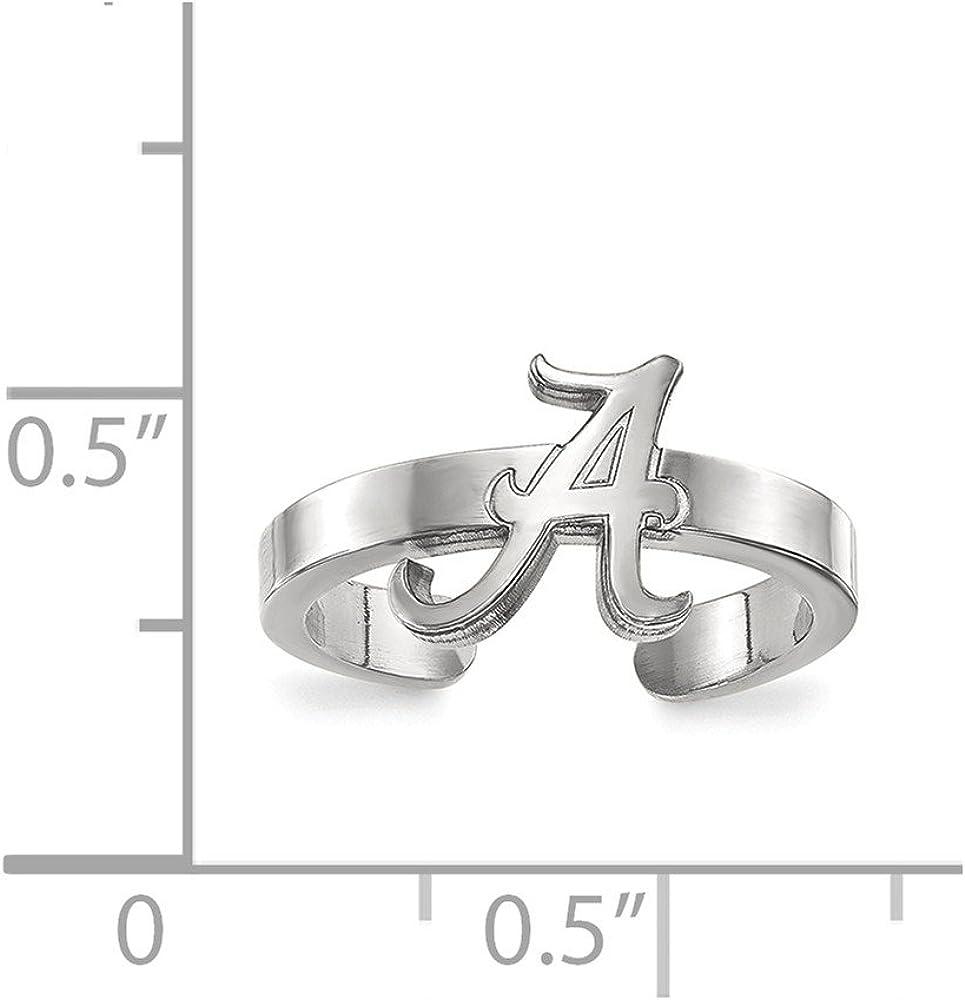 Bonyak Jewelry Sterling Silver Toe Ring Size 11