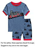 Kyпить IF Pajamas Train Little Boys Shorts Set Pajamas 100% Cotton Clothes Toddler Pj Kids Sleepwear 5T на Amazon.com