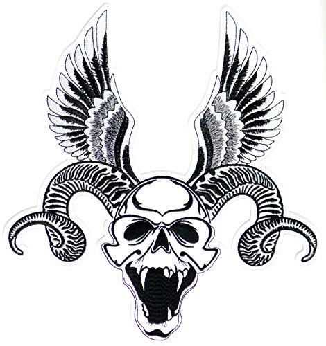 devil head keychain - 3
