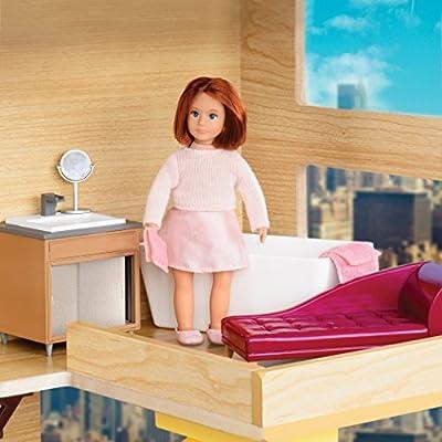 Lori Bathroom Set for Doll House: Toys & Games
