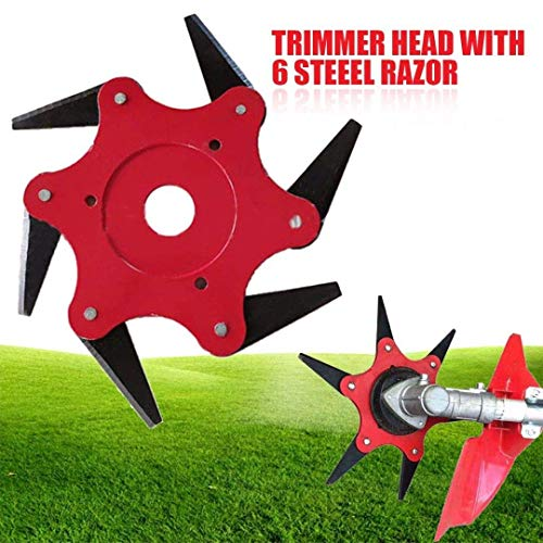 Ball's Outdoor Trimmer Head 6 Steel Blades Razors 65Mn for sale  Delivered anywhere in USA
