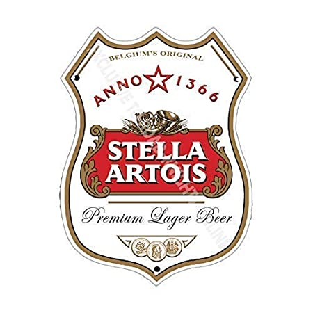 Stella Artois Bar Anuncio Cerveza Antigua Pub Bebidas Bomba ...