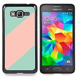 Eason Shop / Premium SLIM PC / Aliminium Casa Carcasa Funda Case Bandera Cover - Clean Line minimalista Patrón - For Samsung Galaxy Grand Prime G530H / DS