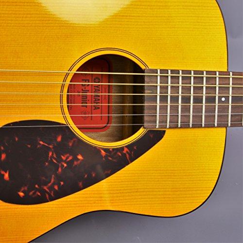 Yamaha JR1 FG Junior 3/4 Size Acoustic Guitar with Gig Bag and Legacy Accessory Bundle - Image 5