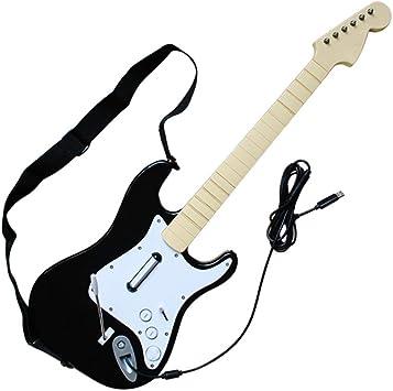 Gamepad Mango con Cable Interfaz USB Forma De Guitarra Control De Juego Xbox 360 Compatible PC/USB Puerto: Amazon.es: Electrónica