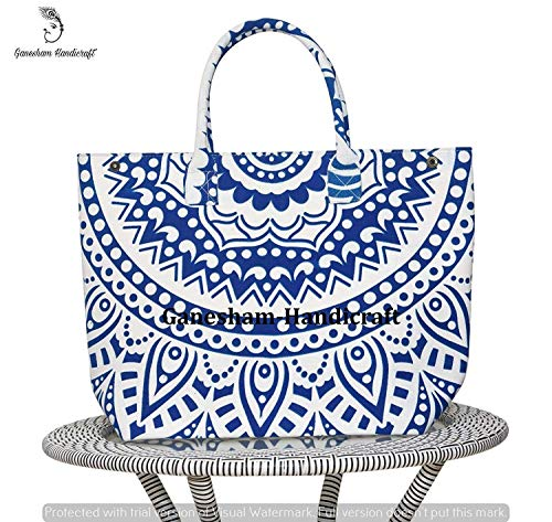 Bag Simple handle Handmade Tapestry Mandala Shoulder Fashion Hippe Tote Bohemian Purse Handbag Indian Body Bags Top Cross qx87wPwB