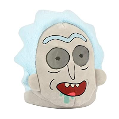 Maskimals Plush Head Halloween Costume, Rick Sanchez: Toys & Games