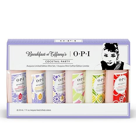 Price comparison product image Avojuice Hand & Body Lotion Cocktail Party Gift 1 Set 6x30ml Breakfast At Tiffany's