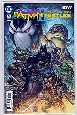 Amazon.com : Batman Teenage Mutant Ninja Turtles II #1 (2018 ...
