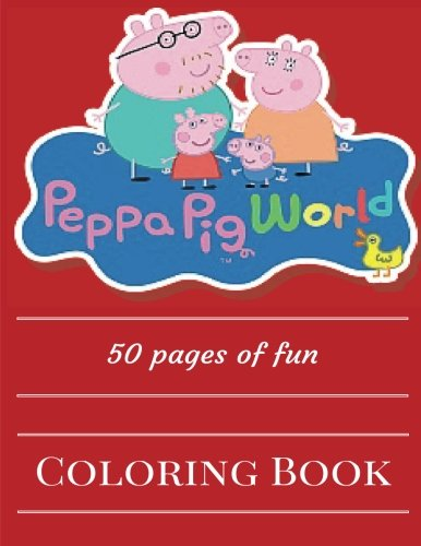 Peppa Pig World Coloring Book product image