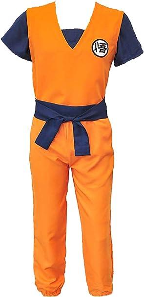 Disfraz de Dragon Ball Z Son Goku para Hombre, Traje de ...