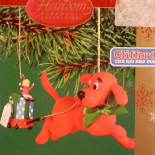 Carlton Cards Cliffords Christmas Fun Ornament The Big Red Dog Holiday