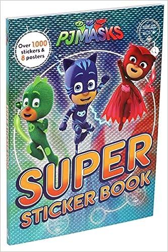 PJ Masks: Super Sticker Book: Amazon.es: Editors of Studio ...