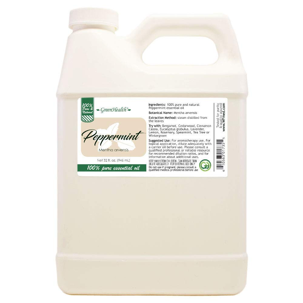 Peppermint 100% Pure Essential Oil - 32oz