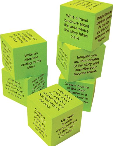 Teacher Created Resources 20635 Foam: Retell a Story Cubes