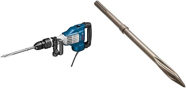 Bosch Professional 0611336000 Martillo demoledor SDS max 1700 W, 240 V + Bosch 2 608 690 167 - Cincel puntiagudo RTec Speed SDS-max - 400 mm (pack de 1): Amazon.es: Bricolaje y herramientas