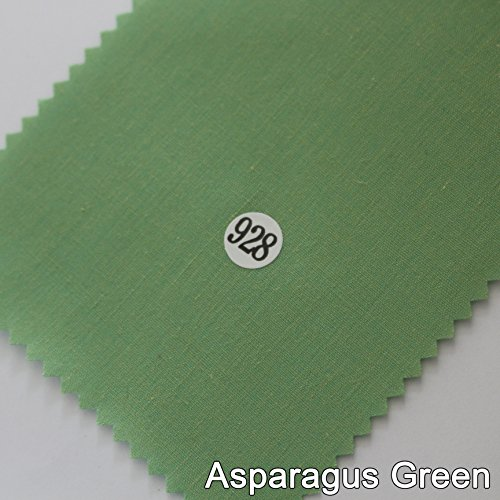 - Cotton Fabric Solid Sample (Asparagus Green(928))