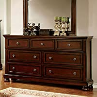 247SHOPATHOME Idf-7682D, dresser, Cherry